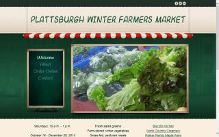 Plattsburgh's Winter Farmers Market