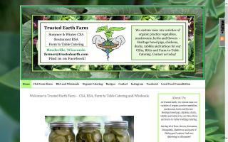 Trusted Earth Farm - CSA, Catering and Wholesale
