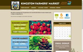 Kingston New York Farmers' Market