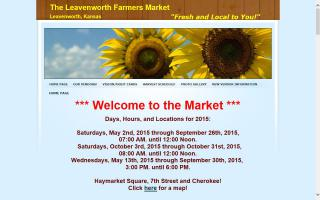 Leavenworth Farmers Market