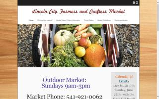 Lincoln City Farmers and Crafter's Market