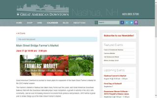 Main Street Bridge Farmer's Market