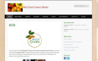 The Main Street Farmers Market, Inc.
