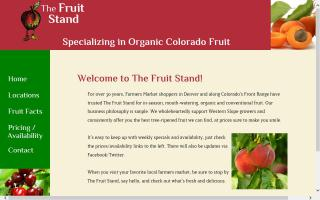 The Fruit Stand