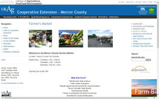 Mercer County Farmers Market