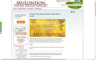 MuLondon - Natural Organic Skin Care