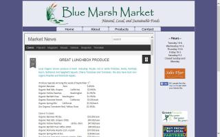 Blue Marsh Market