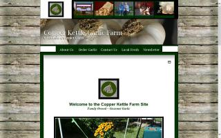 Copper Kettle Farm LLC, Wisconsin Natural Gourmet Garlic