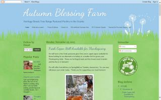 Autumn Blessing Farm
