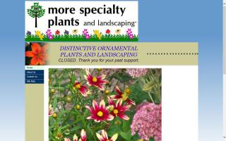 More Specialty Plants And Landscaping