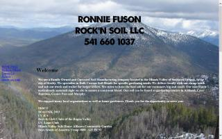Ronnie Fuson Rock'N Soil, LLC.