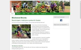 Blackwood Bounty CSA