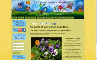 Just Dancing Gardens & Greenhouse