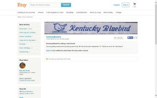 Kentucky Bluebird