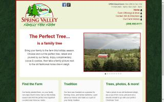 Spring Valley Family Tree Farm
