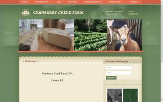 Cranberry Creek Farm, LLC.