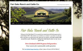 Fair Oaks Ranch and Cattle Co.