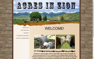 Acres in Zion