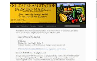 Goldstream Station Market