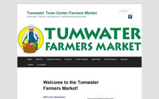 Tumwater Town Center Farmers Market