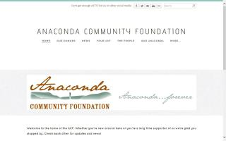 Anaconda Community Market
