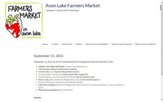 Avon Lake Farmers Market