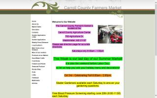 Carroll County Farmer's Market