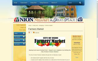City of Union Farmers' Market