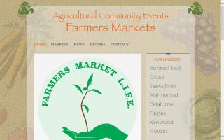 Downtown Novato Community Farmers Market