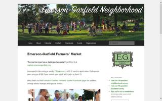 Emerson-Garfield Farmers' Market
