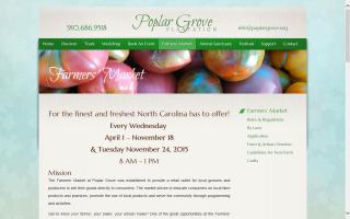 Farmers' Market at Poplar Grove