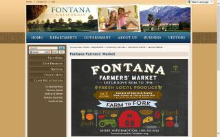 Fontana Farmers' Market - Location I