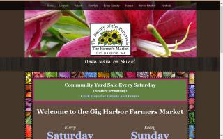 Gig Harbor Farmers Market at Key Center
