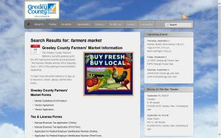 Greeley County Farmers Market