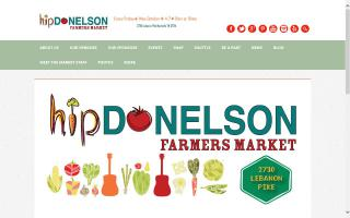 Hip Donelson Community Farmers Market