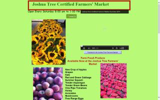 Joshua Tree Certified Farmers Market