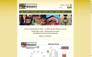 Lafayette Farmers and Artisans Market at the Horse Farm