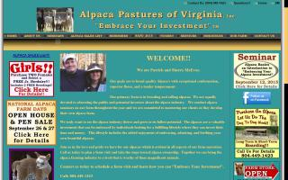 Alpaca Pastures of Virginia, Inc.
