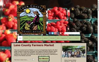 Lane County Farmers Holiday Market