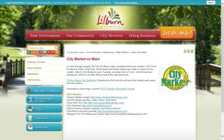 Lilburn City Market on Main