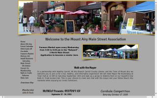Mt. Airy Main Street Farmers Market