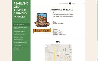 Pearland Old Townsite Farmers Market
