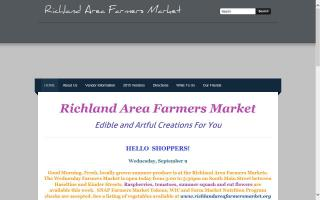 Richland Area Farmers Market - Court House