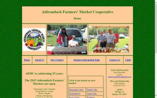 Saranac Lake Farmers' Market