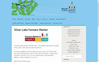 Silver Lake Farmer's Market & Family Fun Fair