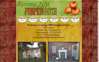 Spring Hill Pumpkin Patch