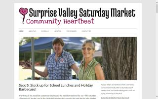 Surprise Valley Saturday Market