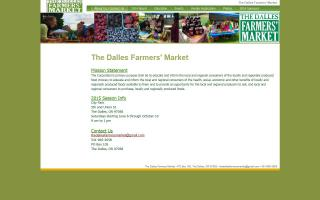 The Dalles Farmers' Market