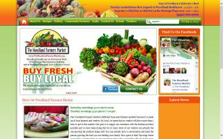 The Woodland Farmers Market at Woodland Healthcare