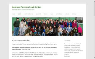 Vermont Farmers Food Center- Winter Farmers Market
